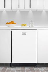 Brand: SUMMIT, Model: CT67BISSHH, Color: White with Black Frame