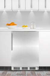 Brand: SUMMIT, Model: CT67BISSHV, Color: Stainless Door with Vertical Thin Handle