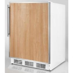 Brand: SUMMIT, Model: SCFF55LADASSHV, Color: Stainless Steel Frame (Requires Panel)