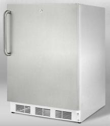 Brand: SUMMIT, Model: ALB751LFR, Style: Stainless Cabinet with Pro Handle