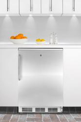 Brand: SUMMIT, Model: CT66LBI, Color: Stainless Door with Pro Handle