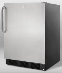 Brand: SUMMIT, Model: FF7LBLBIADA, Style: Stainless Door with Pro Handle