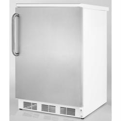 Brand: SUMMIT, Model: FF67BIADASSHH, Color: Stainless Door with Pro Handle