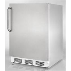 Brand: SUMMIT, Model: FF67BIADASSHH, Color: Stainless Cabinet with Pro Handle