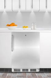 Brand: SUMMIT, Model: AL650LBISSHH, Color: Stainless Door with Pro Handle