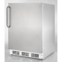 Brand: SUMMIT, Model: FF6BISSTBADA, Color: Stainless Cabinet with Pro Handle