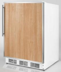 Brand: SUMMIT, Model: CT66BIADASSHV, Color: Stainless Steel Frame (Requires Panel)
