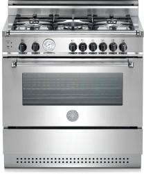 Brand: Bertazzoni, Model: X365PIRCR, Color: Stainless Steel/Liquid Propane