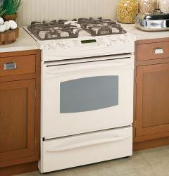 Brand: GE, Model: JGS968BEKBB, Color: True Bisque