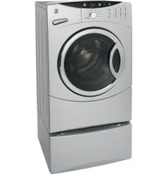 Brand: GE, Model: DCVH660EHGG, Color: Silver Metallic