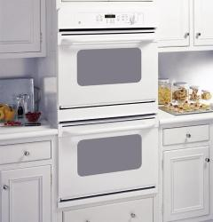 Brand: GE, Model: JTP28BFBB, Color: White on White