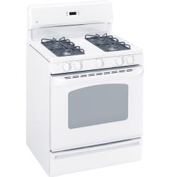 Brand: GE, Model: JGBS23BELBB, Color: White on White