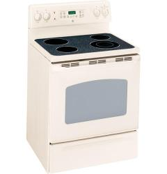 Brand: GE, Model: JBP66WKWW, Color: Bisque with Bisque Door