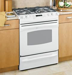 Brand: GE, Model: PGS975WEMWW, Color: White