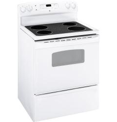 Brand: General Electric, Model: JBP62BMWH, Color: White with White Glass Door