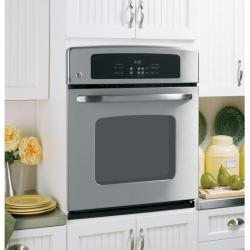 Brand: GE, Model: JKP30WMWW, Color: Stainless Steel