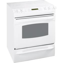 Brand: GE, Model: JS968BKBB, Color: True White
