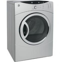 Brand: GE, Model: DCVH660GHWW, Color: Silver Metallic