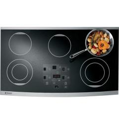 Brand: GE, Model: ZEU36RWFWW, Color: Black with Stainless Steel Trim