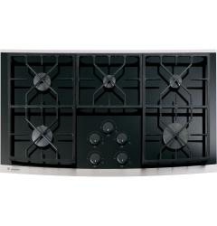 Brand: GE, Model: ZGU36KWKWW, Color: Black with Stainless Steel Trim