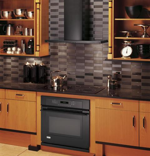 Backsplash For Black Cabinets: Under Cabinet Mount Hoods