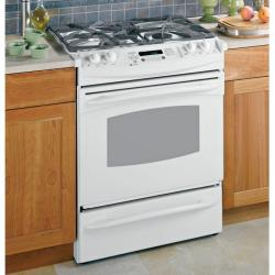 Brand: GE, Model: PGS908WEMWW, Color: White