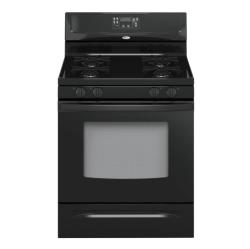 Brand: Whirlpool, Model: SF262LXST, Color: Black