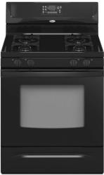Brand: Whirlpool, Model: SF265LXTS, Color: Black-on-Black