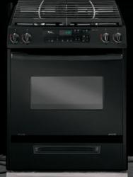 Brand: Whirlpool, Model: GW395LEPT, Color: Black on Black