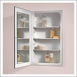 Brand: Broan, Model: 1035P24WH, Style: Cove Frameless Basic Medicine Cabinet