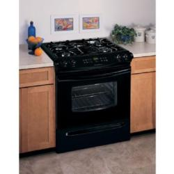 Brand: FRIGIDAIRE, Model: FGS366EB, Color: Black on Black