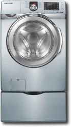 Brand: Samsung, Model: WF419AAW, Color: Steel Blue