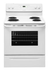 Brand: FRIGIDAIRE, Model: FFEF3016LB, Color: White