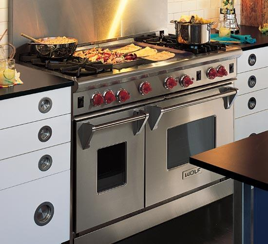 Wolf R484cglp 48 Quot Pro Style Gas Range With 4 Dual Brass