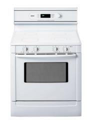 Brand: Bosch, Model: HES7022U, Color: White with True White Ceramic Cooktop