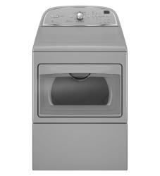 Brand: Whirlpool, Model: WED5700XW, Color: Lunar Silver