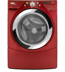 Brand: Whirlpool, Model: WFW9470WR, Color: Cranberry Red
