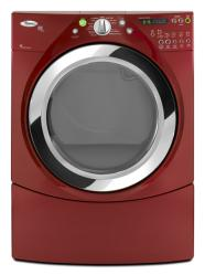 Brand: Whirlpool, Model: WED9470WR, Color: Cranberry Red