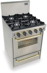 Brand: FiveStar, Model: TPN4807BW, Color: Stainless Steel with Brass Package