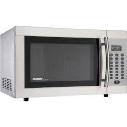 Brand: DANBY, Model: DMW1048SS, Style: 1.0 cu. ft. Countertop Microwave Oven