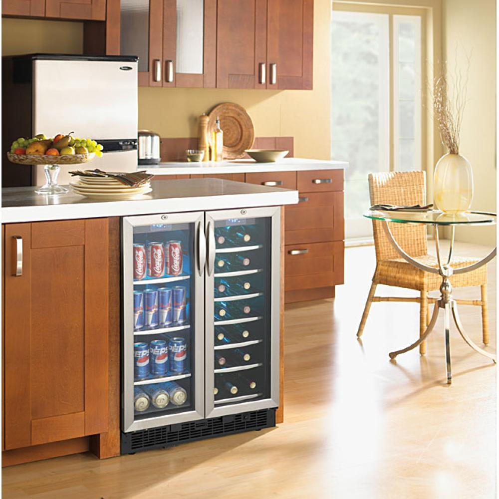 Danby Dbc2760bls 23 Quot Built In Beverage Center Wine Cooler