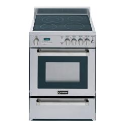 Brand: Verona, Model: VEFSEE244PSS, Style: 24 Inch Pro-Style Ceran Top Electric Range