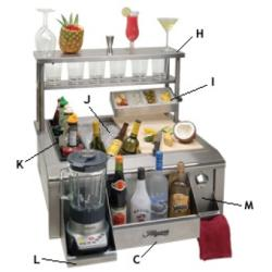 Brand: Alfresco, Model: BARPACKAGE, Style: Bartending Package