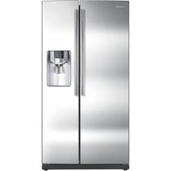 Brand: Samsung, Model: RS267TDBP, Color: Stainless Steel