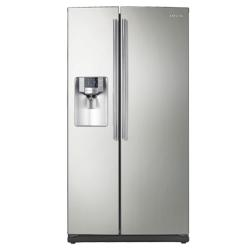 Brand: SAMSUNG, Model: RS267TDWP, Color: Stainless Platinum
