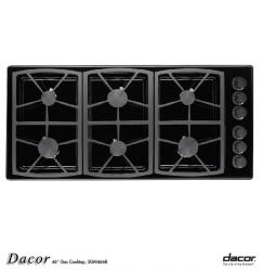 Brand: Dacor, Model: SGM466BH, Fuel Type: Black/Natural Gas