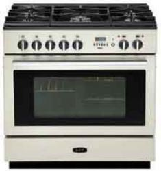 Brand: AGA, Model: APRO36DFWHT, Color: Ivory