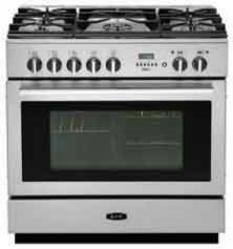 Brand: AGA, Model: APRO36DFWHT, Color: Stainless Steel