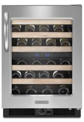 Brand: KitchenAid, Model: KUWS24RSSS, Color: Right-Swing Door/Stainless Steel