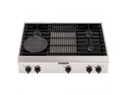Brand: KITCHENAID, Model: , Style: 4 Burners with Grill